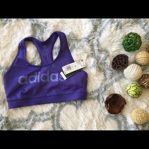 Adidas graphic sport bra